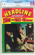 Golden Age (1938-1955):Crime, Headline Comics #37 Mile High pedigree (Prize, 1949) CGC NM/MT 9.8 Off-white pages....