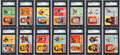 Football Cards:Sets, 1957 Topps Football High Grade Near Set (113/154) With NM-MT Unitas and Starr Rookies! ...