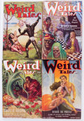 Pulps:Horror, Weird Tales Group of 4 (Popular Fiction, 1934-38) Condition: Average FN-.... (Total: 4 Items)
