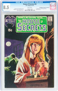 Bronze Age (1970-1979):Horror, House of Secrets #92 Don/Maggie Thompson Collection pedigree (DC,1971) CGC VF+ 8.5 White pages....