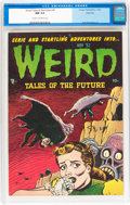 Golden Age (1938-1955):Horror, Weird Tales of the Future #4 River City pedigree (Aragon, 1952) CGCNM 9.4 Cream to off-white pages....