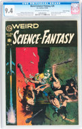Golden Age (1938-1955):Science Fiction, Weird Science-Fantasy #29 Gaines File pedigree (EC, 1955) CGC NM 9.4 Off-white to white pages....
