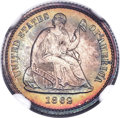 Proof Seated Half Dimes, 1862 H10C PR67+ ★ NGC....