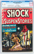 Golden Age (1938-1955):Horror, Shock SuspenStories #6 (EC, 1952) CGC NM 9.4 White pages....