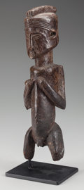 Tribal Art, SUKU MALE FIGURE. (DEMOCRATIC REPUBLIC OF THE CONGO, CENTRALAFRICA)...