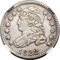 Bust Dimes, 1822 10C JR-1, R.4 -- Improperly Cleaned -- NGC Details. AU....