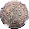 Early Half Dimes, 1800 H10C LIBEKTY, V-2, LM-3, R.4 -- Improperly Cleaned -- NGCDetails. XF....