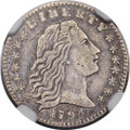 Early Half Dimes, 1794 H10C V-3, LM-3, R.4 -- Improperly Cleaned -- NGC Details.XF....