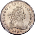 Early Dimes, 1796 10C JR-6, R.3 -- Improperly Cleaned -- NGC Details. AU....