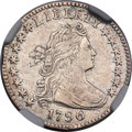Early Dimes, 1796 10C JR-5, R.5 -- Improperly Cleaned -- NGC Details. XF....