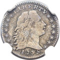 Early Half Dimes, 1795 H10C V-2, LM-3, R.5, VF20 NGC....