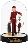 "Luxury Accessories:Home, Louis Vuitton Red Le Groom Dome Figurine. ExcellentCondition. 3.25"" Width x 4.5"" Height x 3.25"" Depth. ..."
