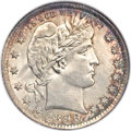 Barber Quarters, 1896-O 25C MS66 NGC....