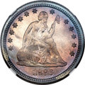 Proof Seated Quarters, 1886 25C PR67 NGC. CAC....
