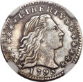 Early Half Dimes, 1795 H10C V-2, LM-3, R.5, MS61 NGC....