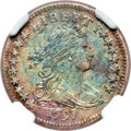 Early Dimes, 1797 10C 16 Stars, JR-1, R.4 -- Environmental Damage -- NGCDetails. AU....