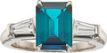 Estate Jewelry:Rings, Alexandrite, Diamond, Platinum Ring, Tiffany & Co.. ... (Total:2 Items)