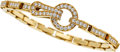 Estate Jewelry:Bracelets, Diamond, Gold Bracelet, Cartier, French. ...