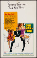 "Movie Posters:Adventure, Our Man Flint (20th Century Fox, 1966). Window Card (14"" X 22"").Adventure.. ..."