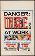 """Movie Posters:Action, The Spy with My Face/To Trap a Spy Combo (MGM, 1966). Window Card (14"""" X 22""""). Action.. ..."""