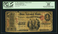 National Bank Notes:Wisconsin, Sparta, WI - $1 Original Fr. 382a The First NB Ch. # 1115. ...