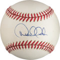 Baseball Collectibles:Balls, 1995-99 Derek Jeter Single Signed Baseball - Early Autograph. ...