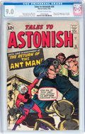 Silver Age (1956-1969):Superhero, Tales to Astonish #35 (Marvel, 1962) CGC VF/NM 9.0 Off-white towhite pages....