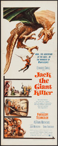 "Movie Posters:Fantasy, Jack the Giant Killer (United Artists, 1962). Insert (14"" X 36"").Fantasy.. ..."
