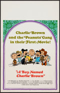 """Movie Posters:Animation, A Boy Named Charlie Brown (National General, 1969). Window Card (14"""" X 22""""). Animation.. ..."""