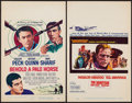 """Movie Posters:War, Behold a Pale Horse & Other Lot (Columbia, 1964). Window Cards(2) (14"""" X 22""""). War.. ... (Total: 2 Items)"""