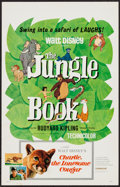 "Movie Posters:Animation, The Jungle Book (Buena Vista, 1967). Window Card (14"" X 22""). Animation.. ..."