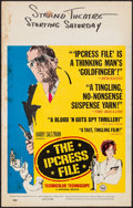 "Movie Posters:Thriller, The Ipcress File (Universal, 1965). Window Card (14"" X 22""). Thriller.. ..."