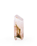 Minerals:Small Cabinet, KUNZITE. Afghanistan. 2.57 x 0.98 x 0.53 inches (6.55 x 2.49 x 1.37 cm). ...