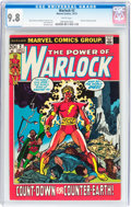 Bronze Age (1970-1979):Superhero, Warlock #2 (Marvel, 1972) CGC NM/MT 9.8 White pages....