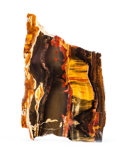 Lapidary Art:Carvings, TIGER'S EYE SLAB. Mount Brockman Station, Pilbara, WesternAustralia. 8.46 x 5.7 x 0.59 inches (21.5 x 14.5 x 1.5 cm). ...