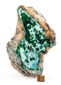 Minerals:Cabinet Specimens, MALACHITE. Mashamba West Mine, Kolwezi District. KatangaCopper Crescent, Katanga (Shaba). Democratic Republic of...
