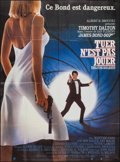 """Movie Posters:James Bond, The Living Daylights (United International Pictures, 1987). French Grandes (2) (45"""" X 61""""). James Bond.. ... (Total: 2 Items)"""