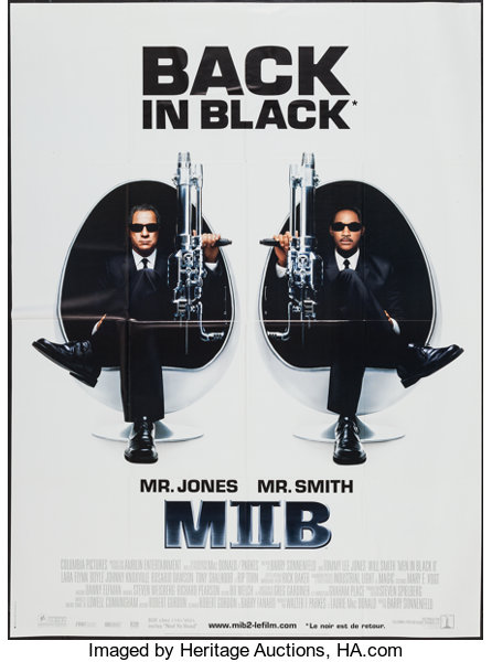 Men In Black Ii Columbia Tristar Films 2002 French Grande Lot 52308 Heritage Auctions