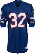 Football Collectibles:Uniforms, 1972-73 OJ Simpson Game Worn Buffalo Bills Jersey Sourced From Former Champion Worker. ...