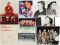 Hockey Collectibles:Photos, Detroit Red Wings Signed Photographs Lot of 8....