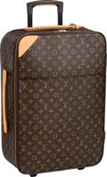 "Luxury Accessories:Travel/Trunks, Louis Vuitton Classic Monogram Canvas Pegase 60 Suitcase Bag.Excellent Condition. 17"" Width x 27"" Height x 9.5""Depth..."