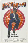 "Movie Posters:Blaxploitation, Hit Man (MGM, 1973). Poster (40"" X 60""). Crime. Starring BernieCasey, Pam Grier, Lisa Moore, Bhetty Waldron and Roger E. Mo..."