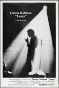 "Movie Posters:Drama, Lenny (United Artists, 1974). Poster (40"" X 60""). Drama. Starring Dustin Hoffman, Valerie Perrine, Jan Miner and Stanley Bec..."