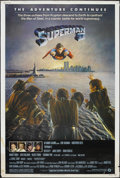 "Movie Posters:Action, Superman II (Warner Brothers, 1980). Poster (40"" X 60""). Sci-FiAction. Starring Gene Hackman, Christopher Reeve, Ned Beatty..."