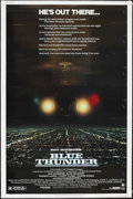 """Movie Posters:Action, Blue Thunder (Columbia, 1983). Poster (40"""" X 60""""). Action. Starring Roy Scheider, Warren Oates, Candy Clark, Daniel Stern an..."""