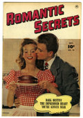 Golden Age (1938-1955):Romance, Romantic Secrets #10 Mile High pedigree (Fawcett, 1950) Condition:FN/VF. Nice white pages. Photo cover. Overstreet 2006 FN ...