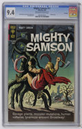 Silver Age (1956-1969):Adventure, Mighty Samson #11 File Copy (Gold Key, 1967) CGC NM 9.4 Off-white to white pages. Painted cover. Jack Sparling art. Overstre...