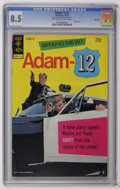 Bronze Age (1970-1979):Miscellaneous, Adam 12 #1 File Copy (Gold Key, 1973) CGC VF+ 8.5 Off-white towhite pages. Photo cover. Overstreet 2006 VF 8.0 value = $49;...