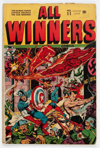 All Winners Comics #11 (Timely, 1943) Condition: Apparent GD/VG