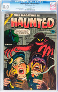 Golden Age (1938-1955):Horror, This Magazine Is Haunted #17 (Charlton, 1954) CGC VF 8.0 Cream tooff-white pages....